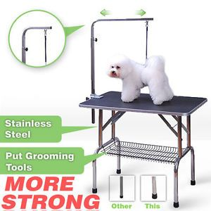 High Quality Small Size Pet Dog Cat Profession Dog Show Fold Grooming Table