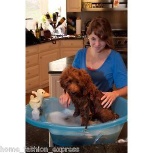 Pet Gear Pup Tub Dog Bath Tub Grooming Wash Washing Shampooing Small New