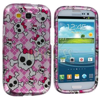 Design Hard Snap on Cover Case Mini Stylus for Samsung Galaxy s III S3 Phone
