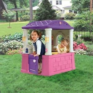 Step2 Playhouse Childrens Kids Toddlers Indoor Outdoor Toy Play House