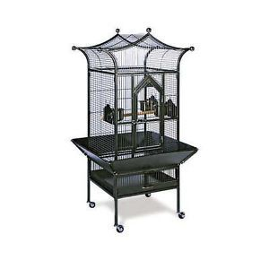 Prevue Pet Products Small Royalty Bird Cage 3171BLACK Hammered Finish NIB