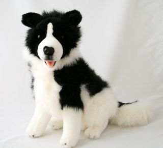 "Border Collie 14"" Stuffed Animals Soft Plush Toys New"