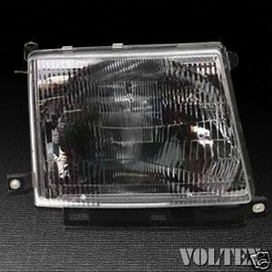 1998 2000 Toyota Tacoma Headlight Lamp Clear Lens Halogen Passenger Right Side