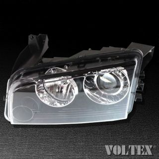2008 2010 Dodge Charger Headlight Lamp Clear Lens Driver Left Side