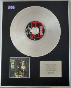 Living Colour Limited Edition CD Platinum Disc Stain