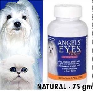 Angels Eyes Stain Free Eyes for Dog Cats All Natural Ingredients 75gm