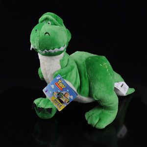 "15"" Disney Toy Story Rex Dinosaur Stuffed Plush Dolls Soft Toy New"