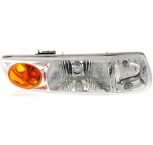 New Headlight Lamp Clear Lens Halogen Passenger Right Side GM2503206 21112456