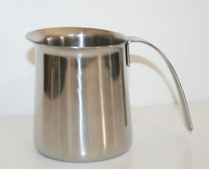 Krups Frothing Cup Lot Stainless Steel Coffee Maker Espresso Milk