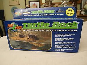 "Zoo Med Turtle Dock Floating Basking Ledge Newt Frog 5"" x 11"" 10 Gallon Tanks"