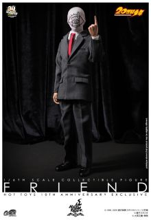 "Hot Toys Sideshow 20th Century Boys Friend 12"" Action Figure Exclusive"