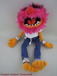 "Wild Crazy Muppets Animal Plush Stuffed Doll 18"" Poseable Sababa Toys 2003"