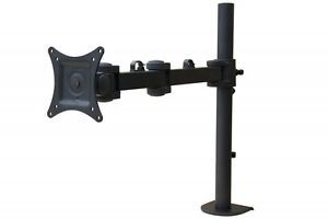 Mount It Articulating Swivel Single Arm Computer Monitor Desk Mount Up to 27""