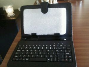 "Colorful Keyboard Case Cover Stylus for 7"" Proscan Android Tablet PC"