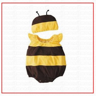 Baby Boy Girl Mickey Minnie Bee Ladybird Costume Bodysuit Outfit Romper 3 24M