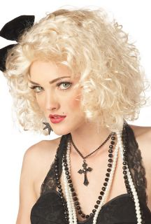 Sexy 80's Pop Star Halloween Costume Wig 70182