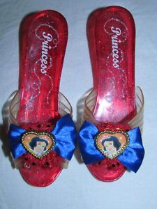 Girls Disney Princess Snow White Dress Up Play Shoes Toddler Costume
