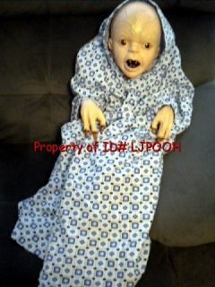 Lifesize The Hills Have Eyes Deformed Baby Halloween Prop Figure Awesome Look