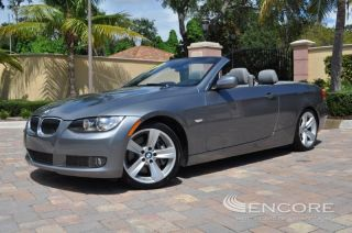 2010 BMW 335i Convertible Turbo Prem Sport Cold Weather Pack Navi Auto