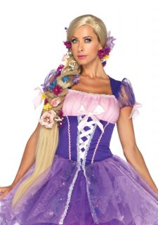 Disney Womens Rapunzel Halloween Costume Wig