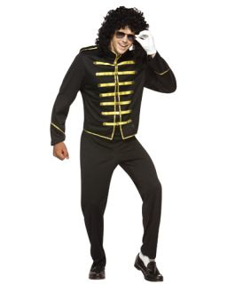 80's Pop Star Michael Jackson Jacket Glove Costume