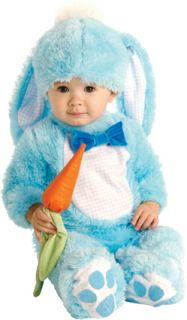 Blue Baby Rabbit Child Fancy Dress Kids Easter Bunny Animal Costume 0 18 Months