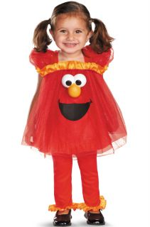 Sesame Street Frilly Light Up Elmo Infant Toddler Halloween Costume