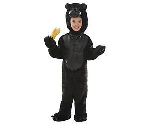 Gorilla Monkey King Kong Boys Girls Kids Toddler Baby Halloween Costume 3T 4T