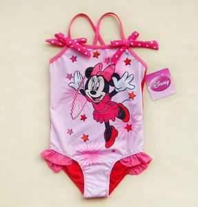 2T 3T 4T 5T 5 6 6 7 Girls Baby Swimsuit Swimming Costume Tankini Bathing Suit