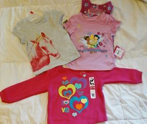 Kids Children Infant Toddler Baby Clothing Lot Girls 18 Month Shirts