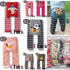 Animal Design Boy Girl Baby Toddler Infant Clothes Legging Tight Leg Warmer Sock
