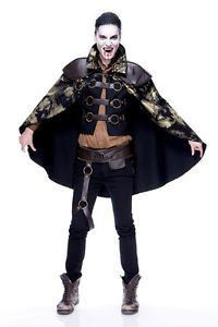Shadow Stalker Mens Gothic Vampire Halloween Costume