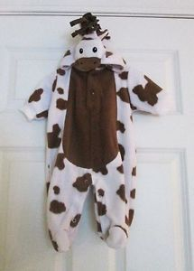 Infant Baby Giraffe Hooded Halloween Costume 0 3 Months Bonus Pumpkin Costume