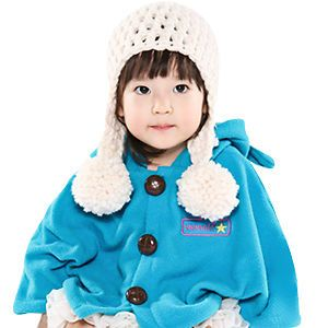Made in Korea Star Cape Baby Boy Girl Infant Warm Clothing JK 301