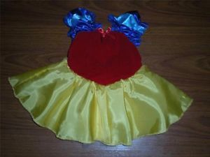 Baby Girl Disney Princess Dress Snow White Halloween Costume 12mo Disneyland
