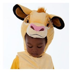 Brand New  Simba Lion King Plush Costume Baby Toddler Size 3T 3