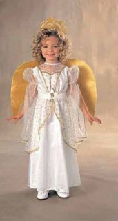 Rubie's Toddler Girls 'Barbie Angel' Halloween Costume White One Size