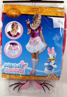 Adult Ladies Daisy Duck Costume Sassy New Large 12 14 Disney Women 11404E Sexy