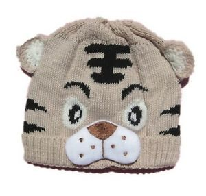 1pcs Baby Girls Boys Kids Toddlers Crochet Knit Cute Tiger Hat Cap Beanie Bonnet