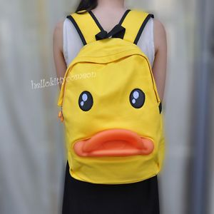 Cute Cartoon Duck Style Baby Boy Girl Kid Child Backpack Schoolbag Shoulder Bag