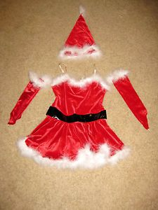 Child x Large Dance Costume Competition Halloween Santa Jazz Tap Hip Hop x Mas