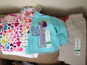 3 PC Jumping Beans Baby Girl Clothing So Cute 12 Months New with Tags