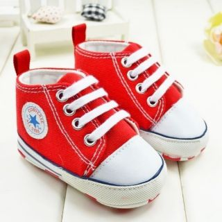 Baby Boy Girl R Converse Infant Sneaker Crib Shoe 3 6 6 9 9 12 Months Size 2 3 4