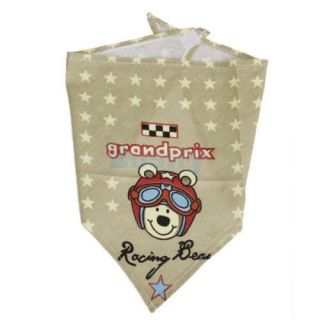 3X Grooming Pet Dog Puppy Cotton Bandana Neck Scarf Kerchief Velcro Closure