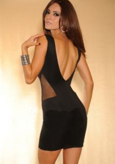 Black Sexy Womens V Backless Halter Cocktail Party Evening Xmas Fashion Dress