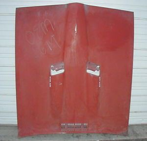 1969 69 1970 70 Pontiac GTO Judge Original RAM Air Hood Assembly Line Installed