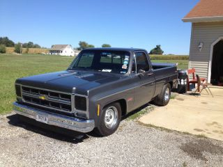 1979 C 10 Chevy Short Bed Race Truck