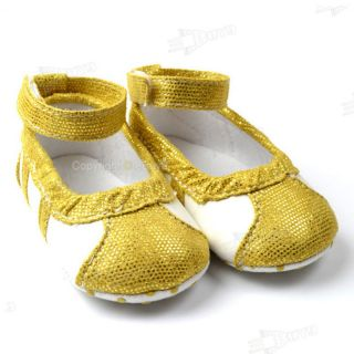 Gold Toddler Baby Girls Princess Sandals Shoes Age 9 12 Month Size US 3 X106Z5L