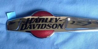 Harley Davidson Chrome Gas Tank Emblems