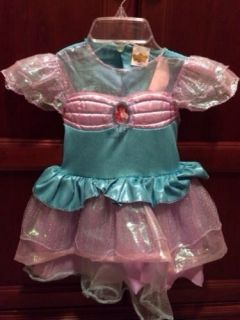 Disney Little Mermaid Princess Ariel Toddler Costume 3T 4T